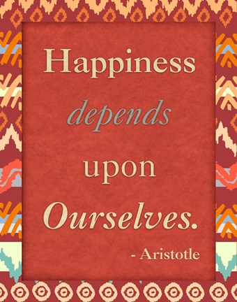 Framed Happiness Ourselves Print
