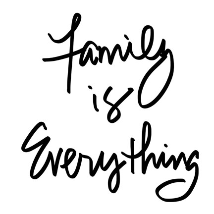 Framed Family is Everything Print