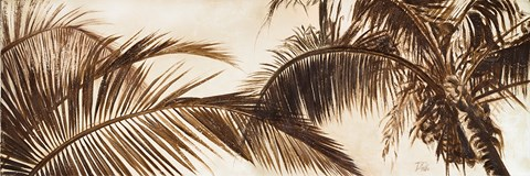 Framed Coconut Palms Print