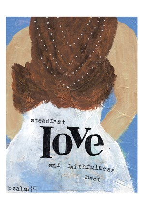 Framed Weddings Steadfast Love Print