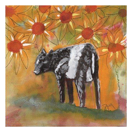 Framed Farm Animal Print