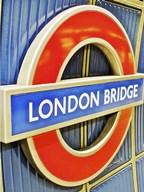 London Bridge Underground Sign  Fine Art Print