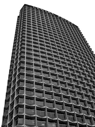 Framed Centre Point BW Print