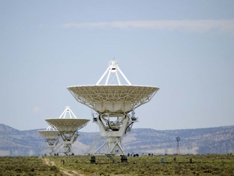 Framed Very Large Array Print