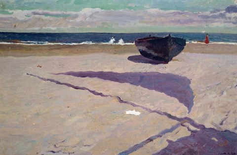 Framed Shadow of the Boat, 1903 Print