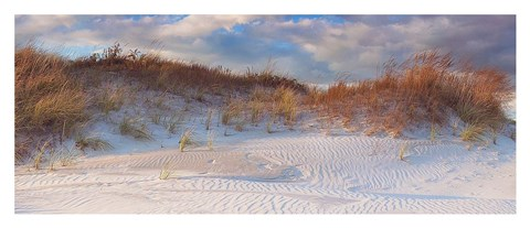 Framed Dunes Light Print