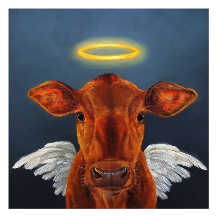 Framed Holy Cow Print