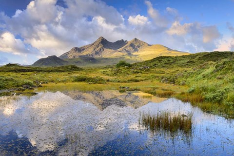 Framed Cuillin Reflection Print