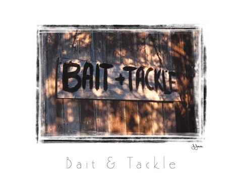 Framed Bait & Tackle Print