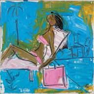 Pink Bikini  Fine Art Print