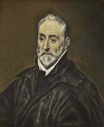 Framed Portrait of Antonio Covarrubias Print