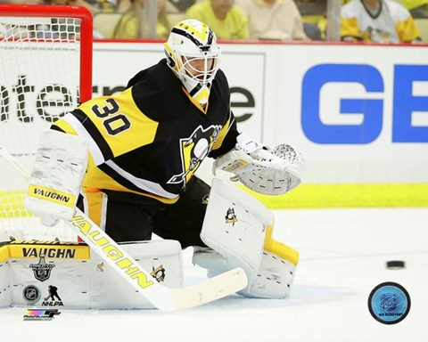 Framed Matt Murray 2016 Stanley Cup Playoffs Action Print
