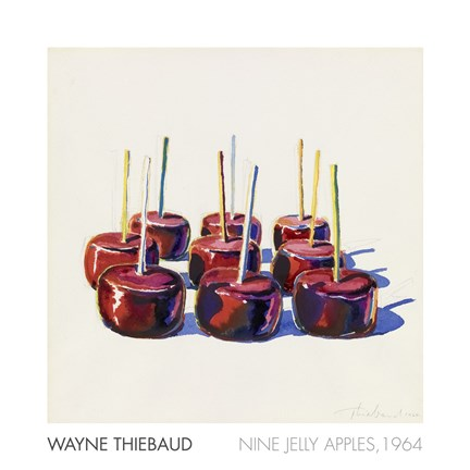 Framed Nine Jelly Apples, 1964 Print
