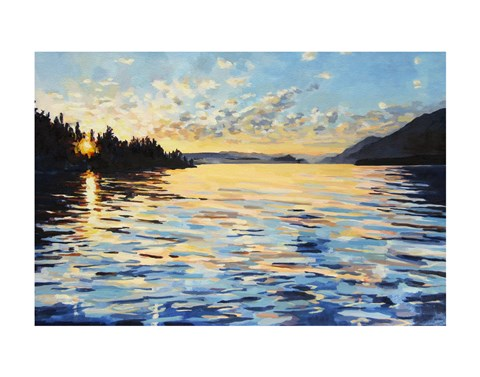 Framed Lake Pend Oreille Print