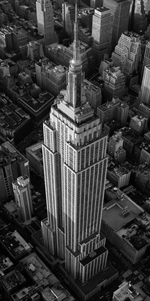 Framed Empire State Building, NYC Print