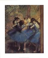 Blue Dancers Art