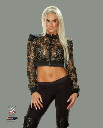 Framed Maryse 2016 Action Print