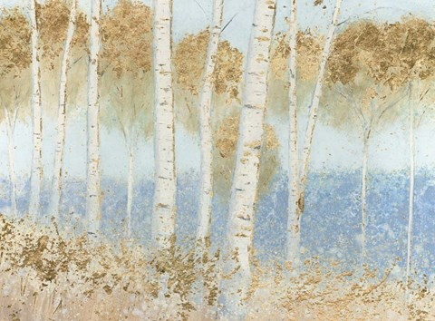 Framed Summer Birches Print