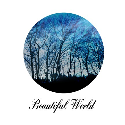 Framed Beautiful World Print