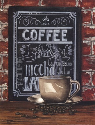Framed Coffee Time Print
