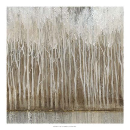 Framed Whispering Trees II Print
