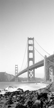 Framed California, San Francisco, Golden Gate Bridge Print