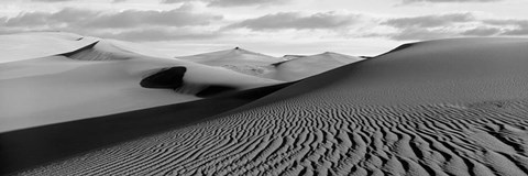 Framed Sand dunes in a desert, Great Sand Dunes National Park, Colorado Print