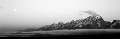 Framed Teton Range Grand Teton National Park WY USA Print