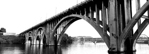 Framed Henley Street Bridge, Tennessee River, Knoxville, Tennessee Print