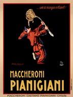 Maccheroni Pianigiani 1922  Fine Art Print