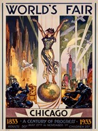 Chicago World's Fair 1933  Fine Art Print