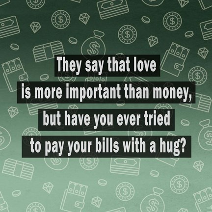 Quote Master Love vs. Money