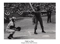 Fidel at Bat