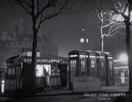 Night Time Coffee, London Art