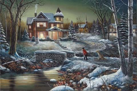 Homeward Bound Fine Art Print By Jim Hansel At