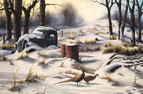 Winter Retreat Fine Art Print By Jim Hansel At