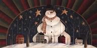 Snowman Arch  Fine Art Print