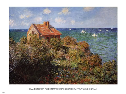 Framed Fisherman's Cottage Print