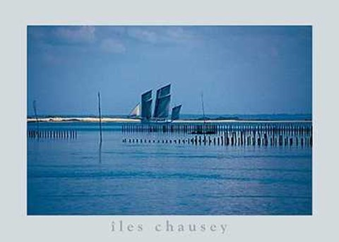 Framed Isles of Chausey Print