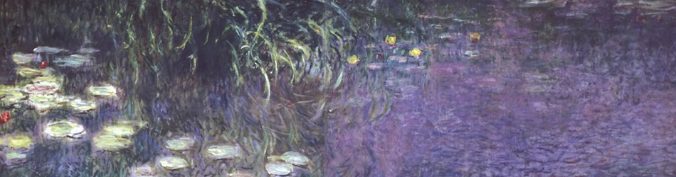 Water Lillies Morning by Claude Monet