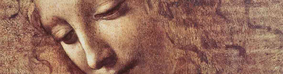 Head of a Young Woman with Tousled Hair by Leonardo Da Vinci