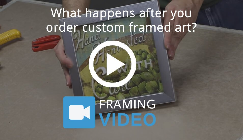 Our Custom Framing Process