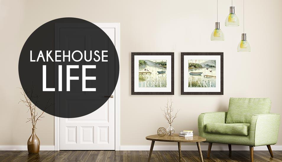 Lakehouse art