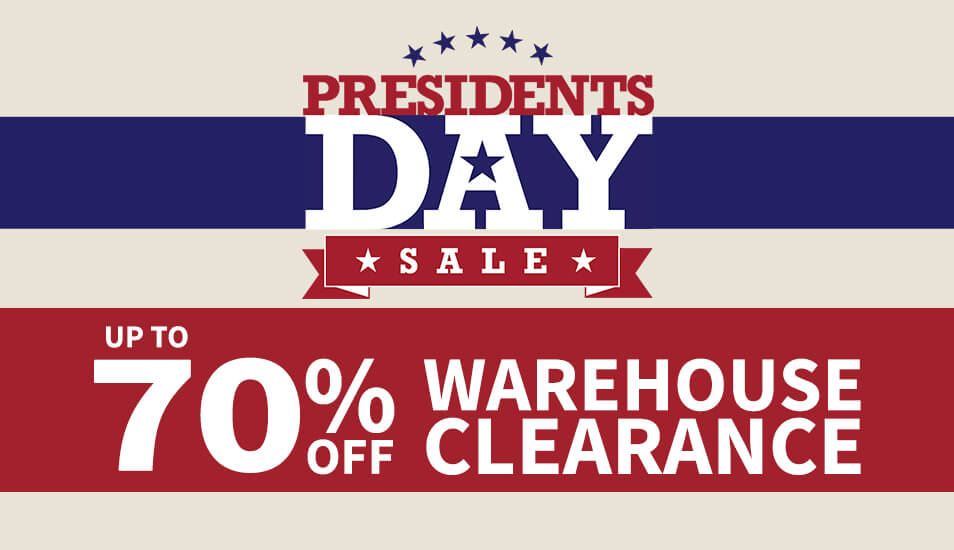 Presidents Day Clearance Sale
