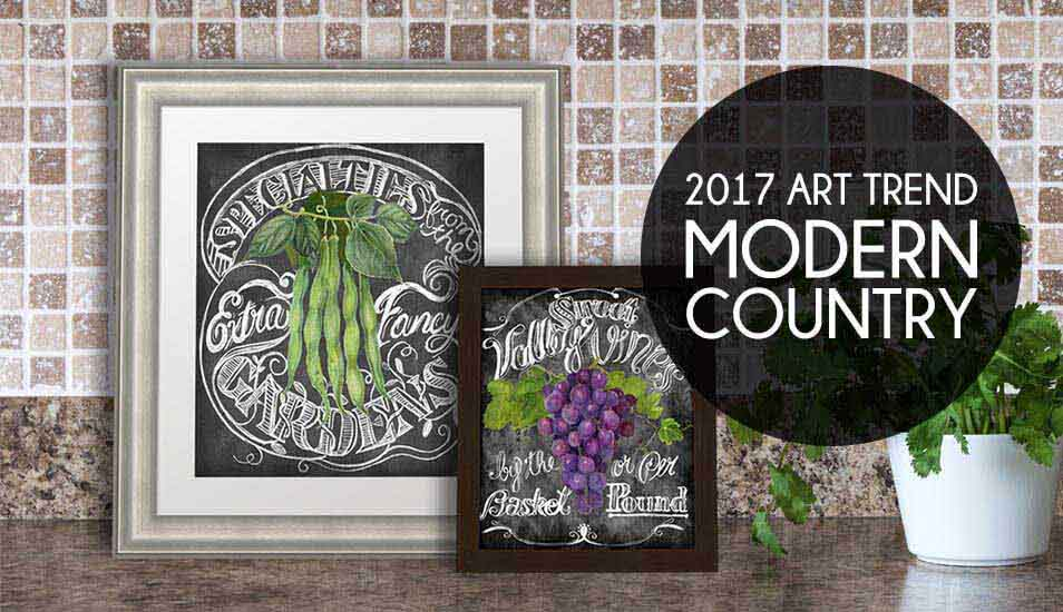 Contemporary Country Art trend