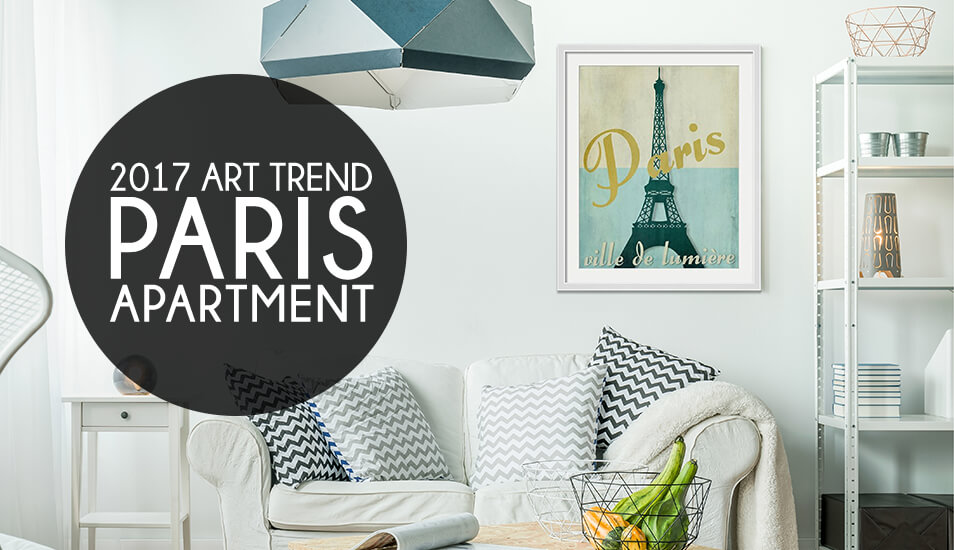 Paris Apartment Art trend