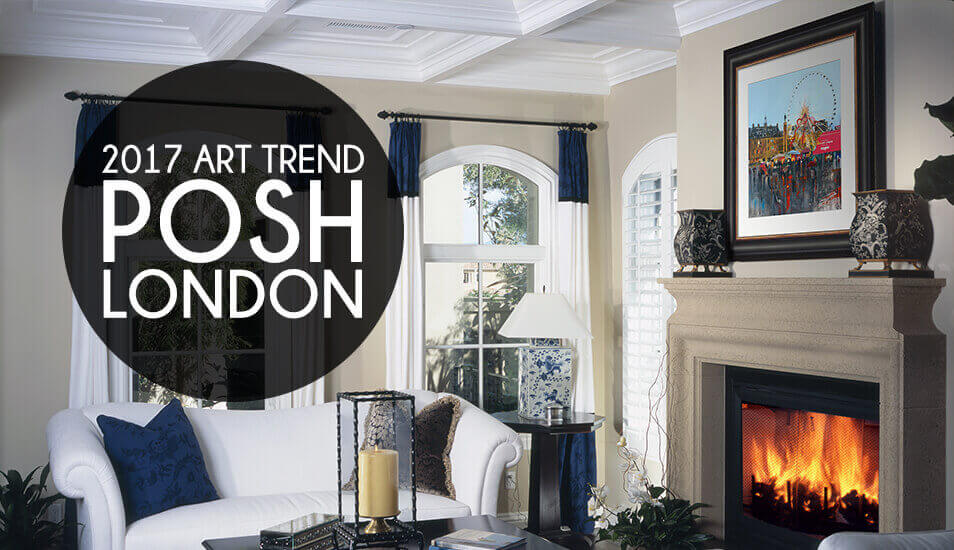 Posh London art Prints