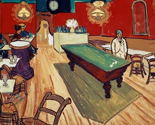 The Night Cafe in the Place Lamartine in Arles, c.1888 by Vincent Van Gogh