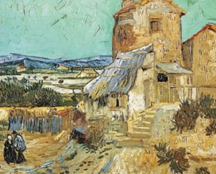 Old Mill by Vincent Van Gogh