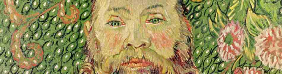 Roulin by Vincent Van Gogh